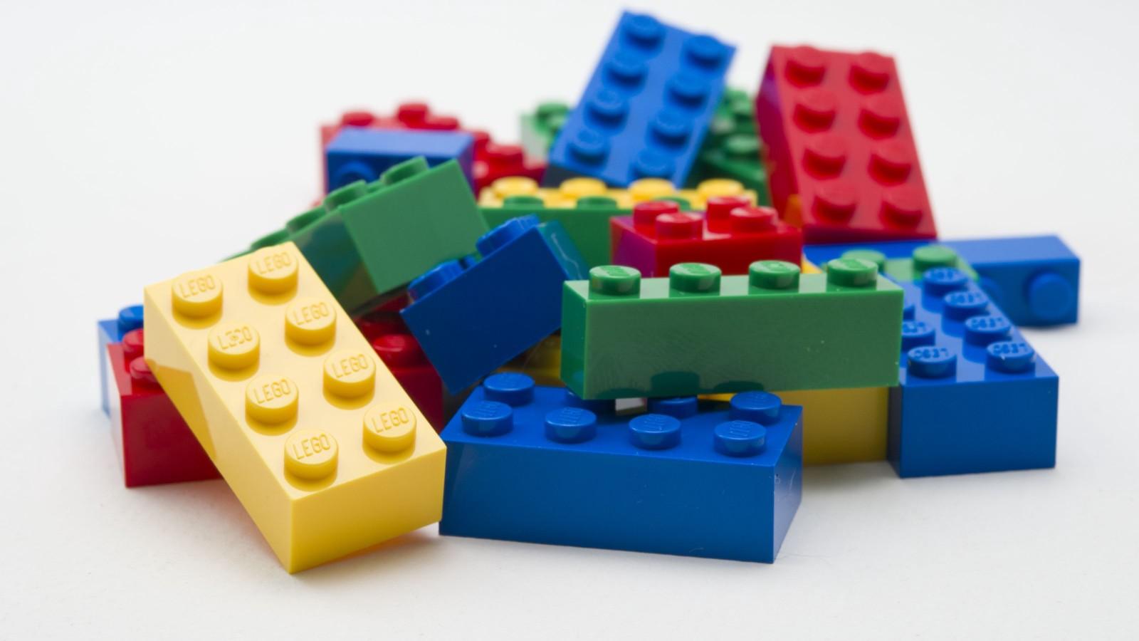 Lego Bricks Close-Up