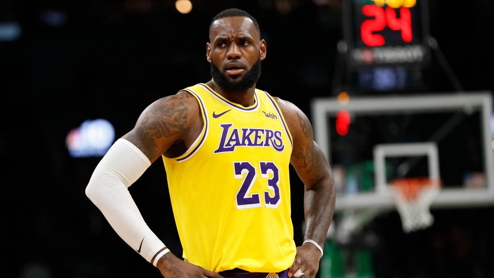 LeBron James - Lakers 23
