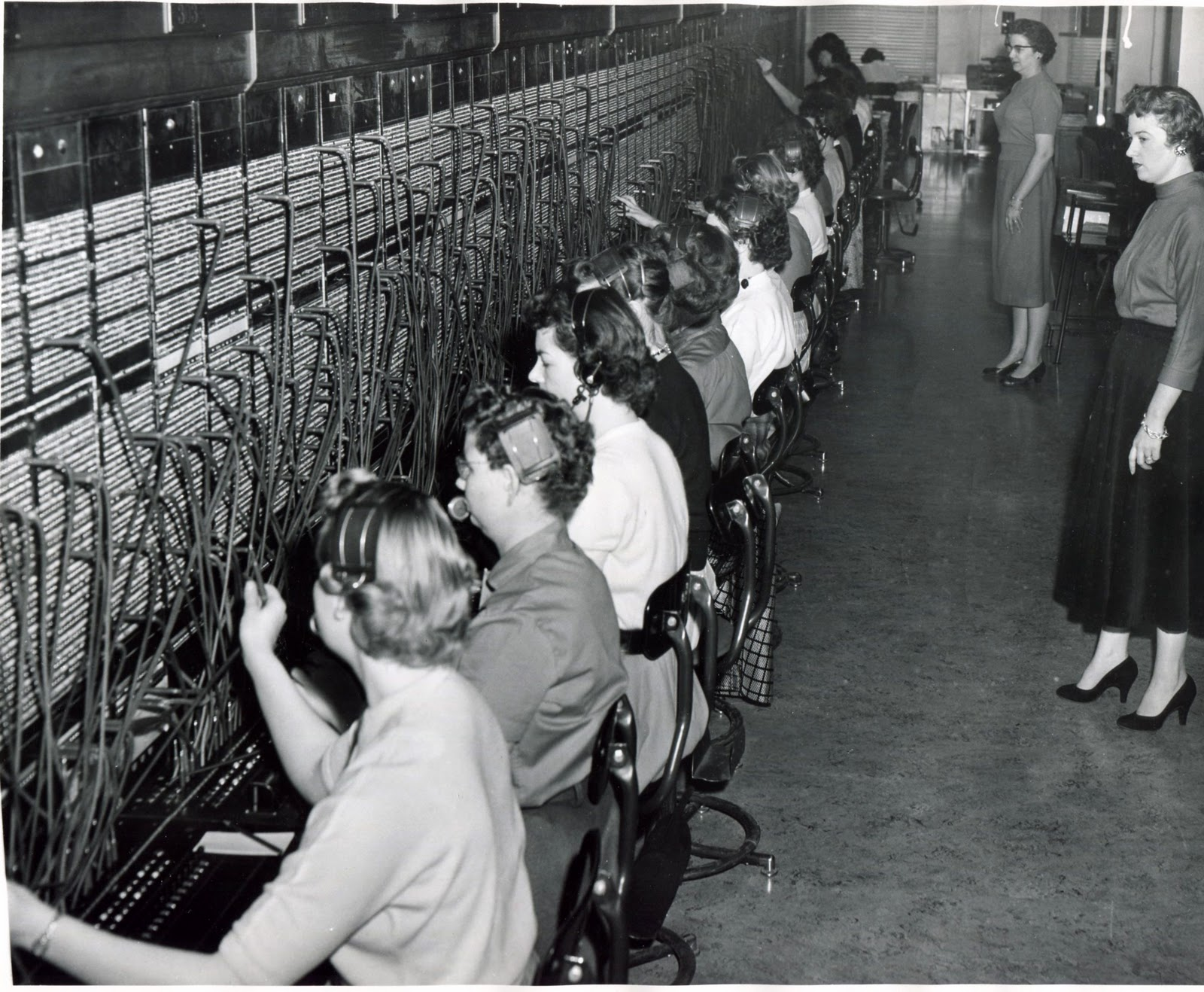 switchboard operators during the 1918 flu