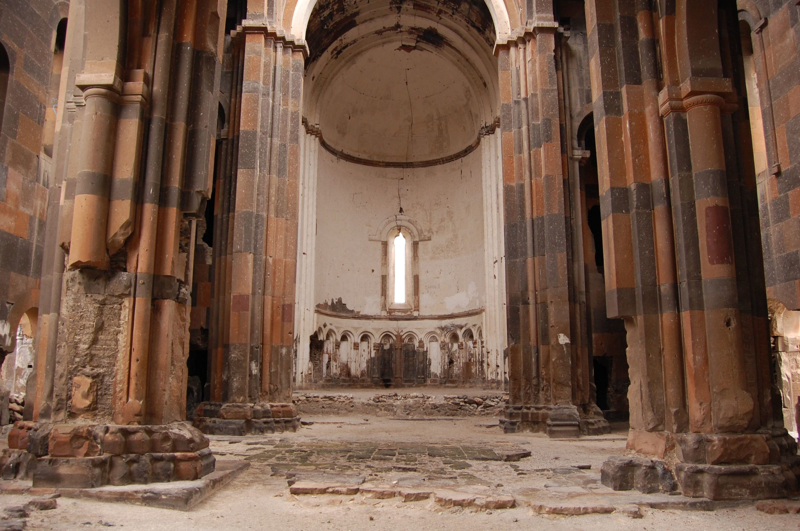 A look inside one of the remaining ancient churches