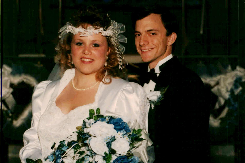 Doug and Lynda McCready at their wedding