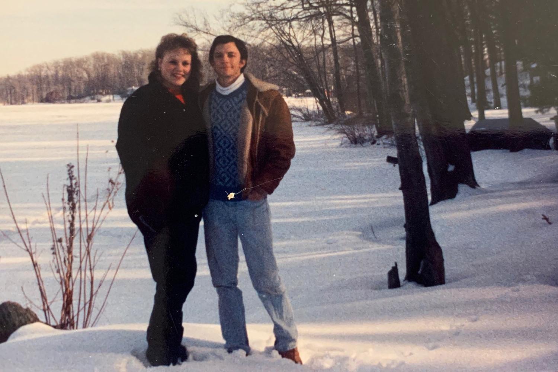 Doug and Lynda McCready young