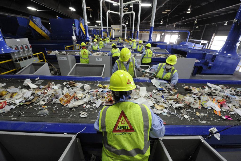 men recycle