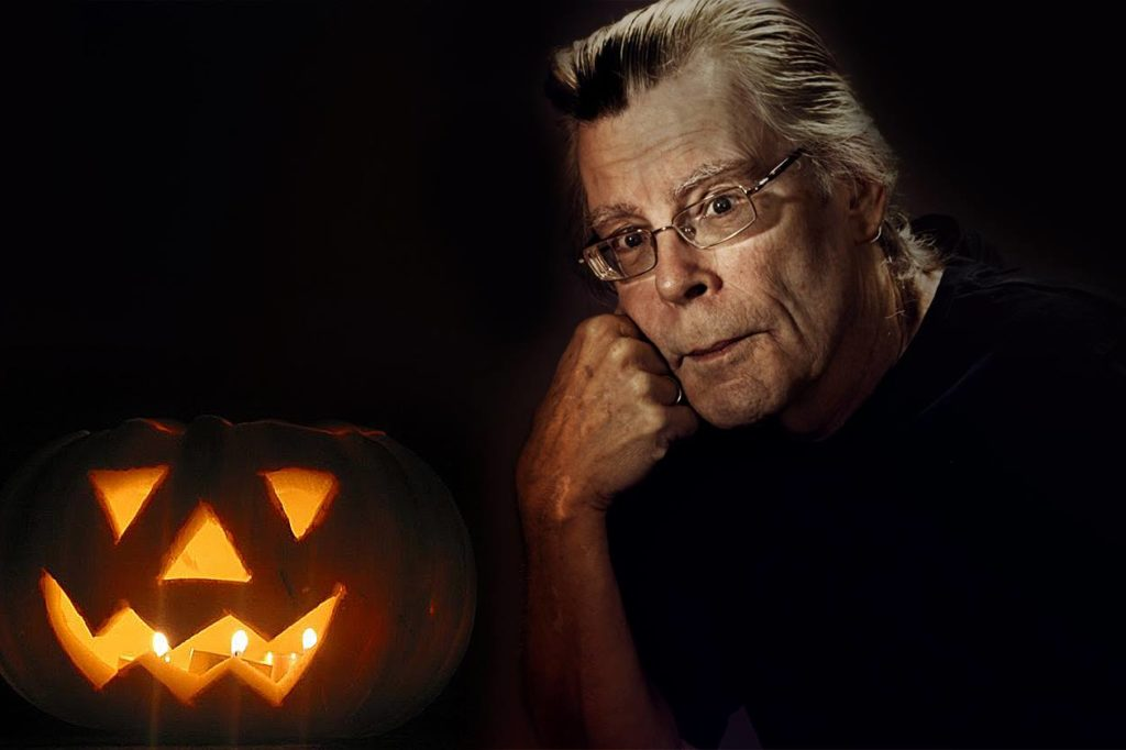 Stephen King on Halloween Pumpkin
