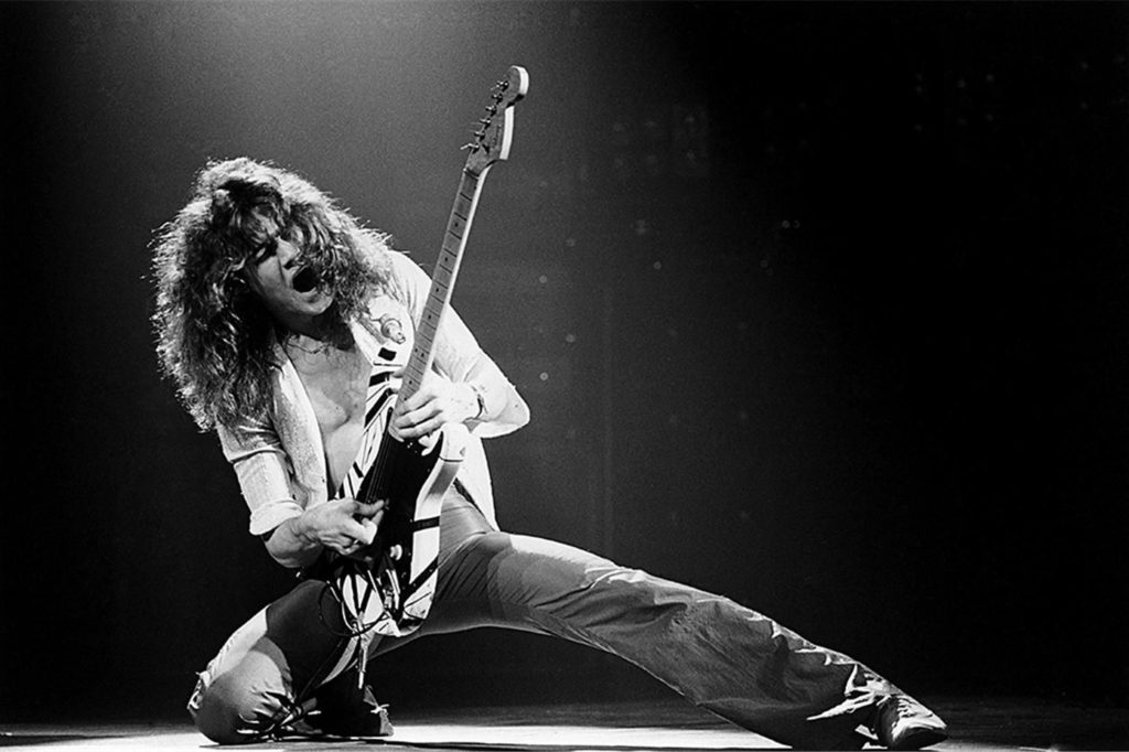 Eddie Van Halen young wallpaper