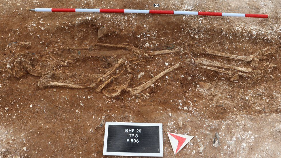 The Grave of an Ancient England Warlord