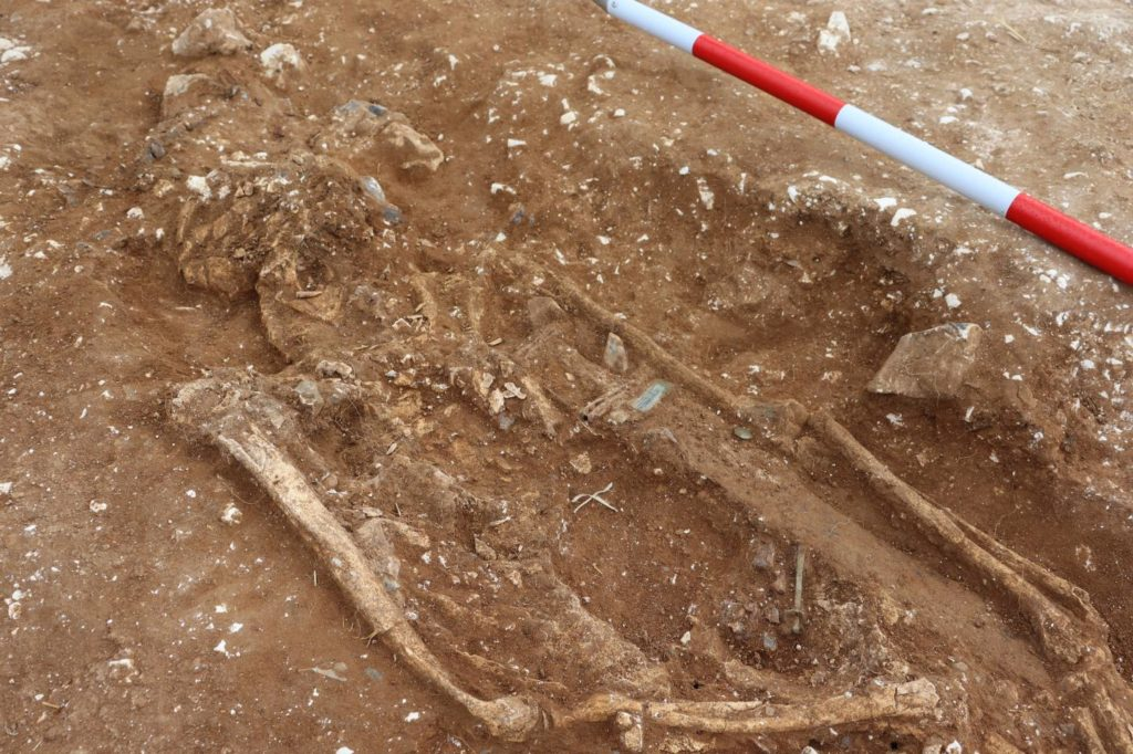 The Grave of an Ancient England Warlord Has Been Dug Up