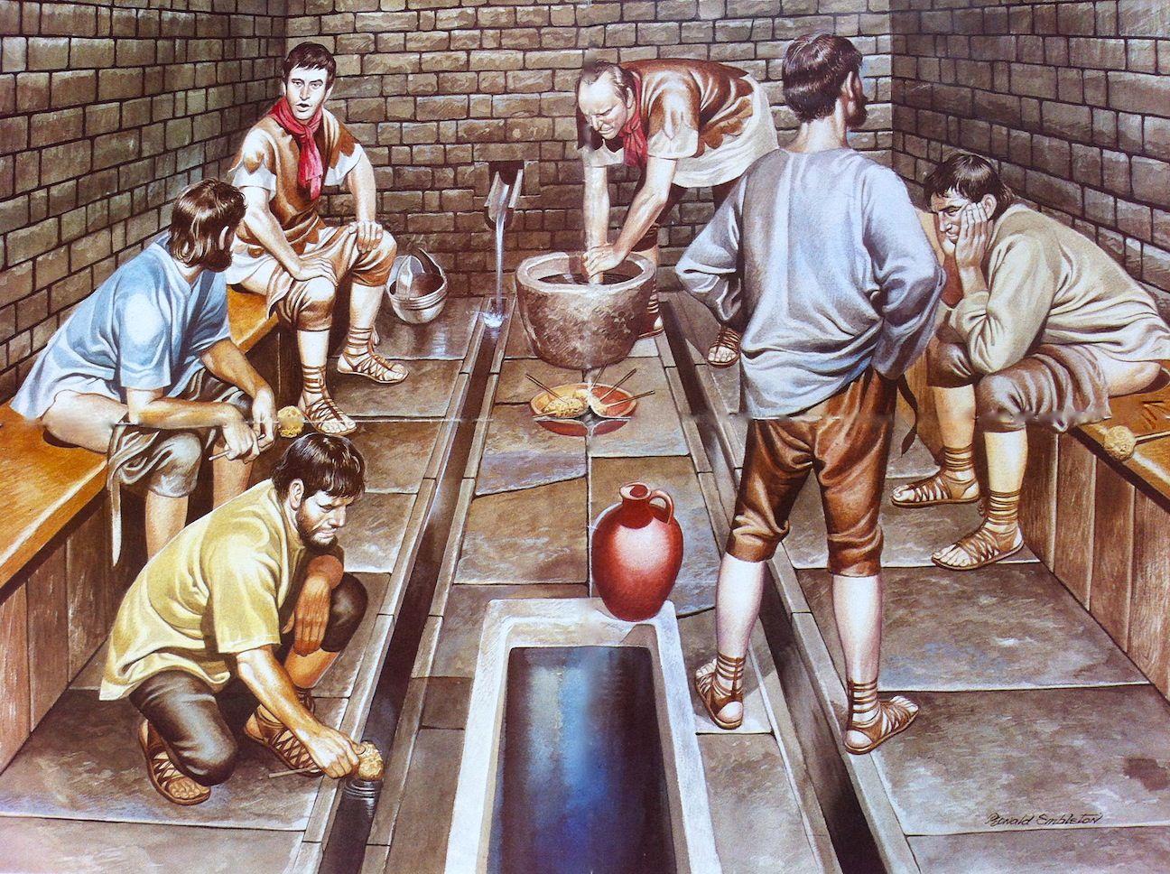 Toilet Sanitation in Ancient Rome