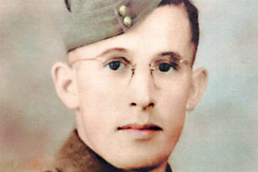 WWII Canadian Soldier's Life Saved by His Metal Shaving Kit