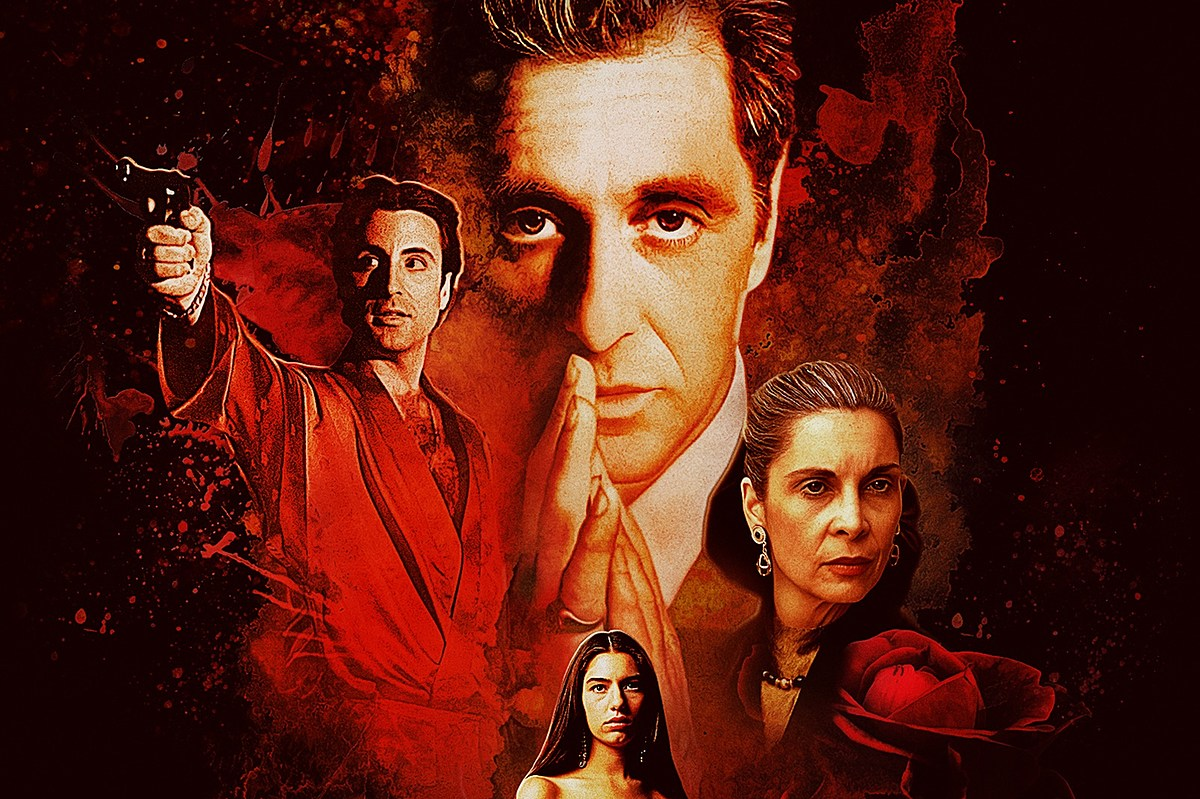 The Godfather III movie poster