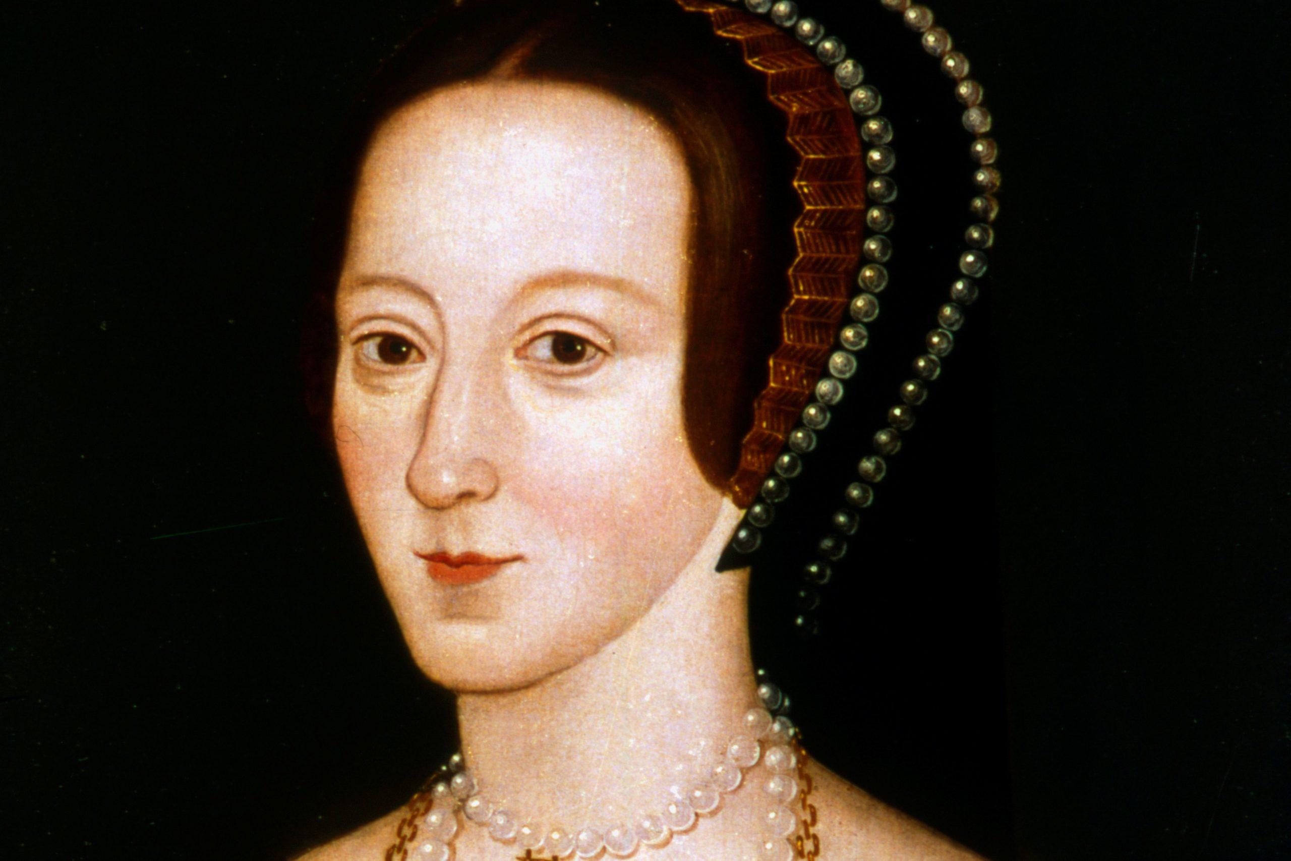 Late Elizabethan portrait of Anne Boleyn, possibly derived from a lost original of 1533–36