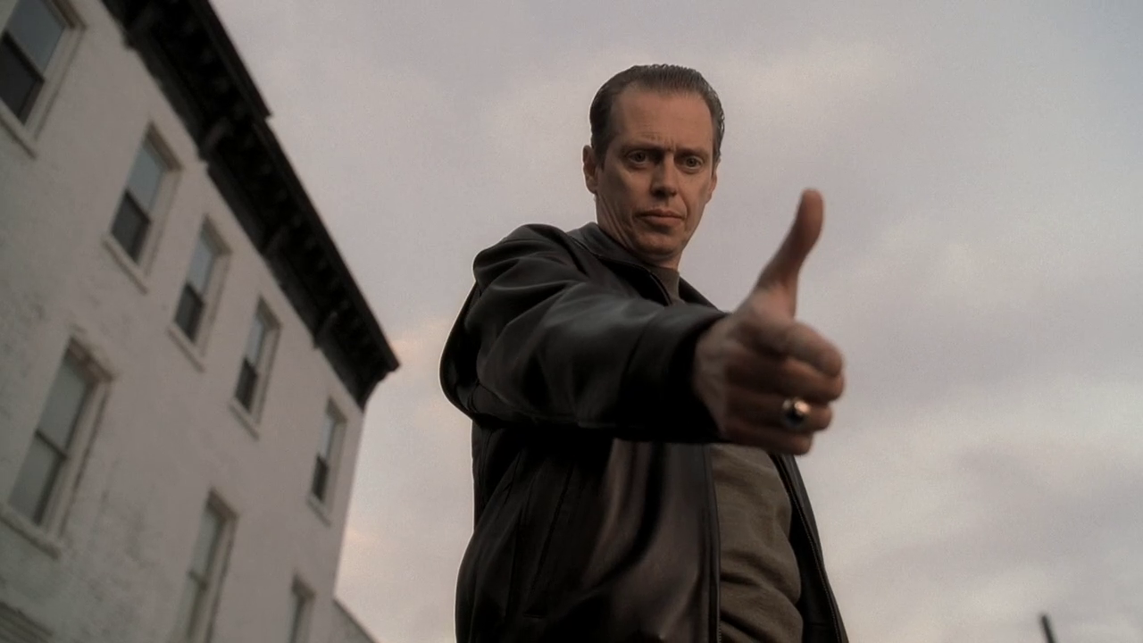 Buscemi as Tony Blundetto in 'The Sopranos'