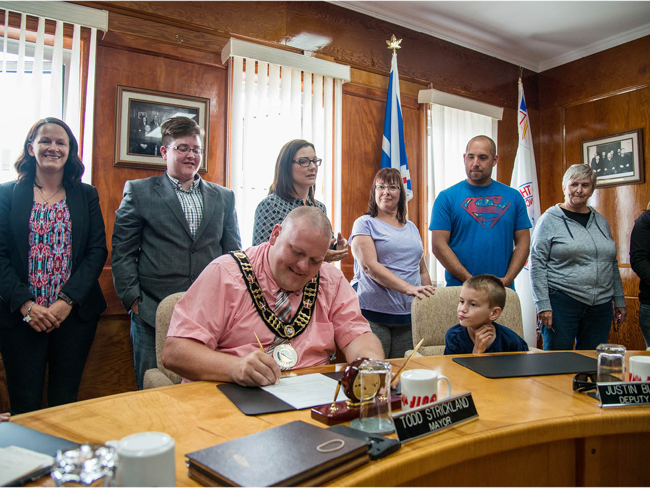 Todd Strickland - The Mayor of Channel-Port aux Basques