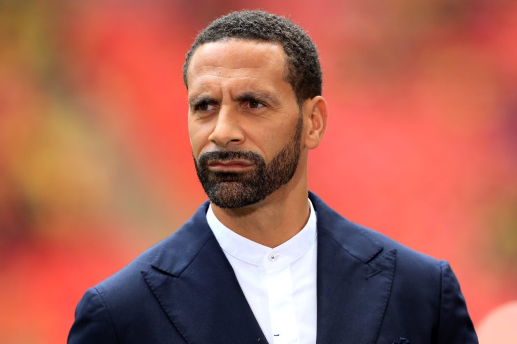 Former England defender Rio Ferdinand is currently a football pundit
