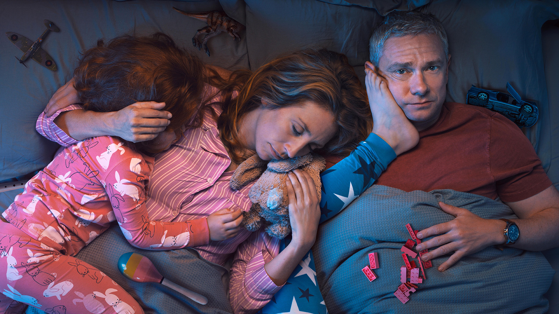 """""""Breeders,"""" a new Sky Original comedy starring Martin Freeman and Daisy Haggard, explores the paradox that every parent knows but never admits: you would willingly die for your children, but quite often you also want to kill them. The 10 x 30 series premieres in the UK and Ireland on 12th March at 10pm on Sky One and streaming service NOWTV."""