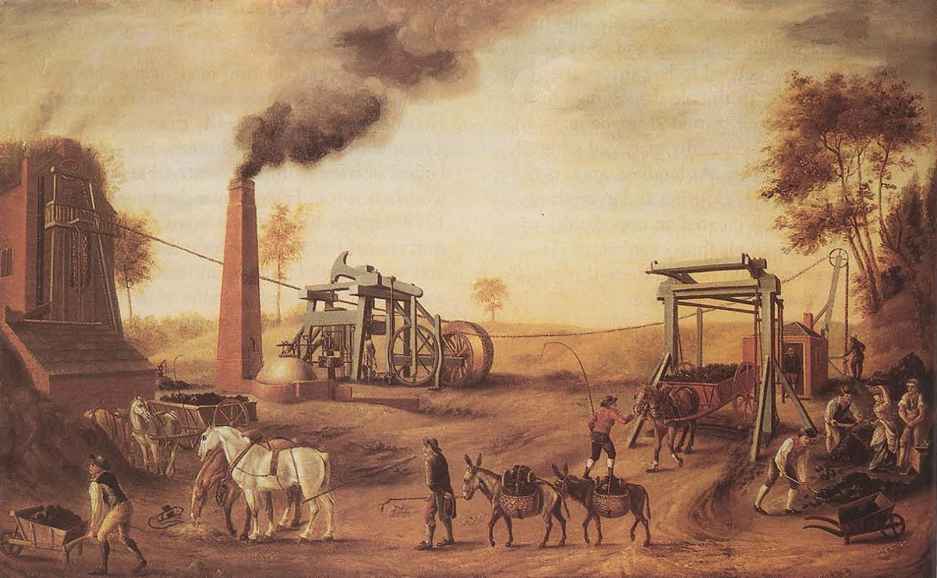 Agriculture Revolution in England, the end of the 17th century