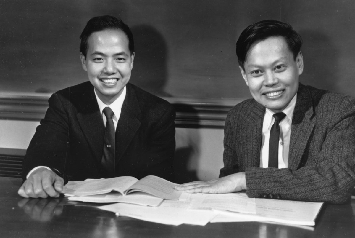 Tsung-Dao Lee (Left) and Chen Ning Yang (Right)