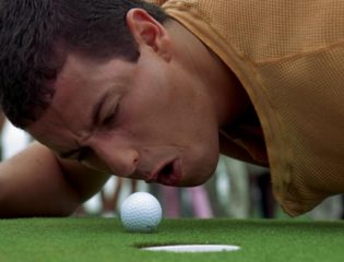 Adam Sandler Recreates the Golf Scene From Happy Gilmore