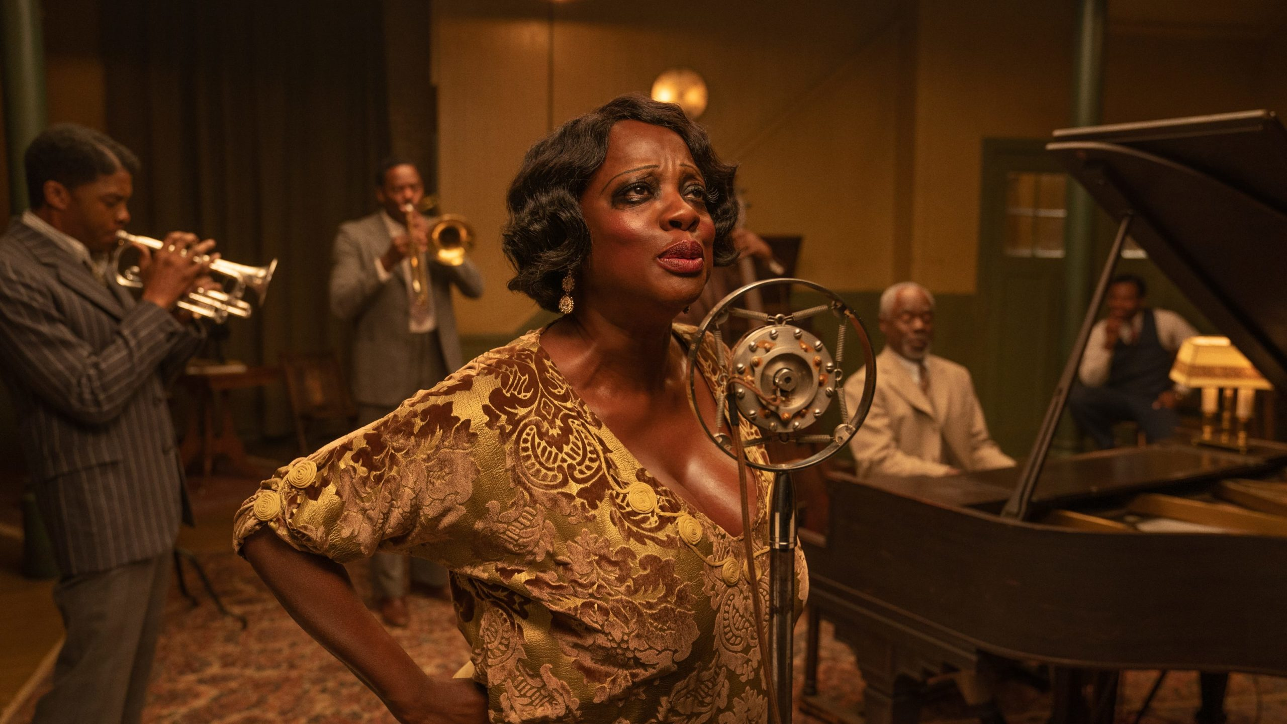 "Viola Davis as Ma Rainey in ""Ma Rainey's Black Bottom"""