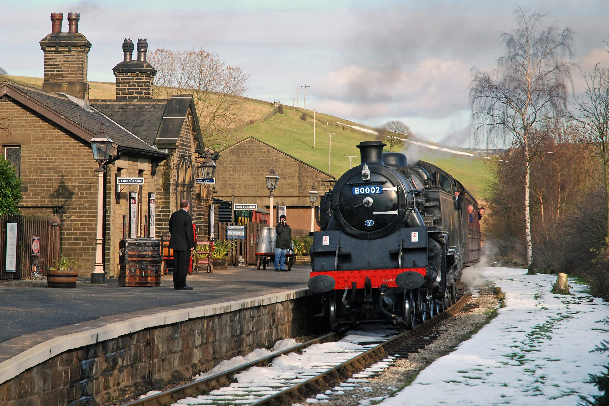 The Keighley & Worth Valley Railway from the Railway Children