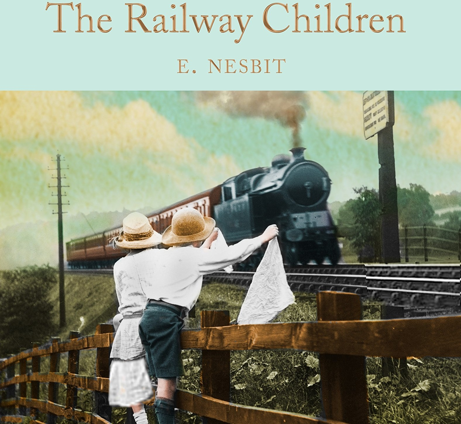 The Cover of the Book, The Railway Children