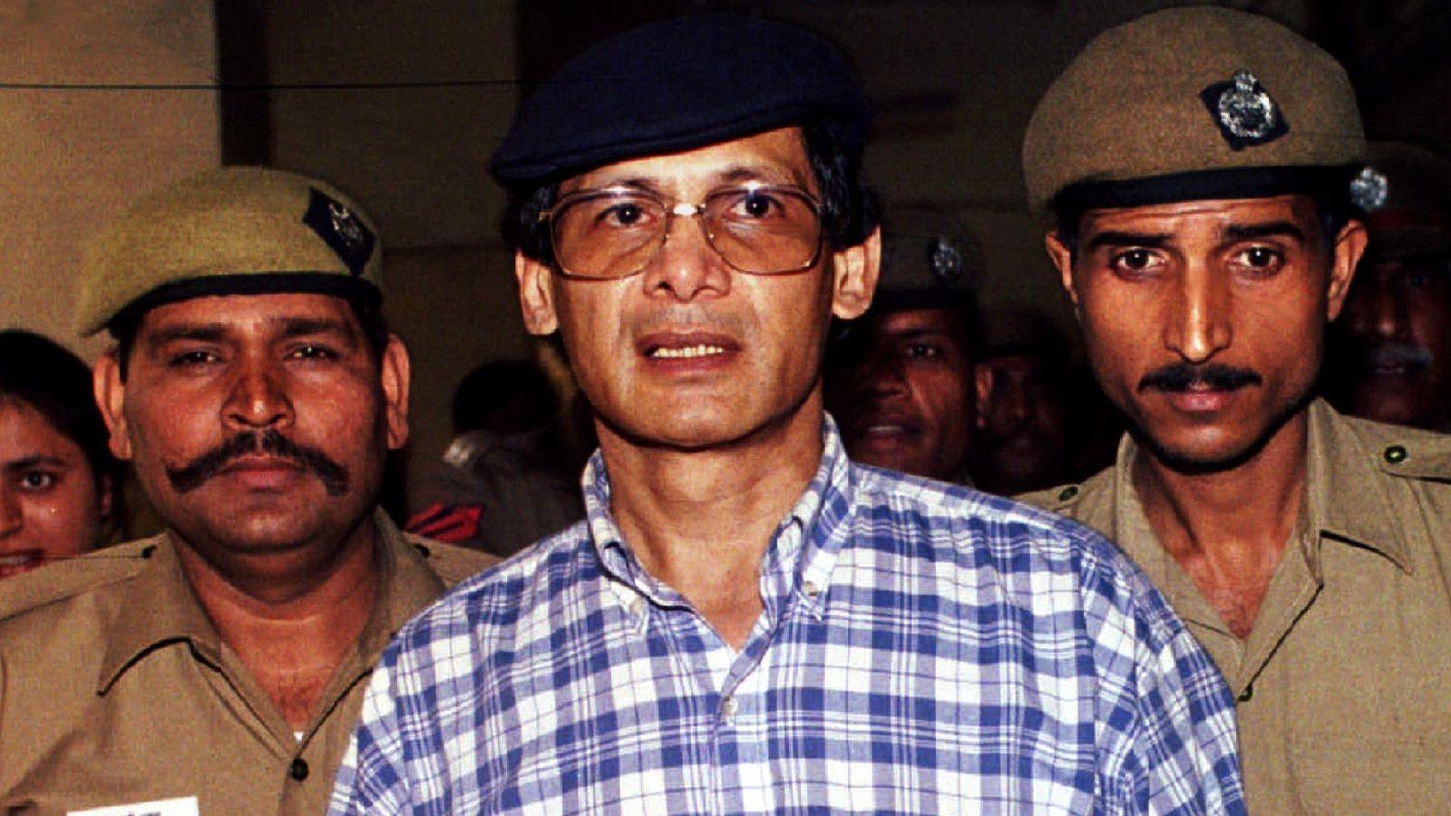 Charles Sobhraj while being in custody.