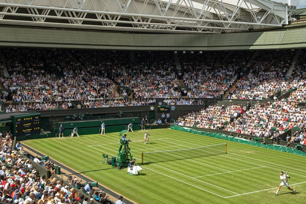 Wimbledon Grounds Come to the Rescue of the British During the Germany-Britain War