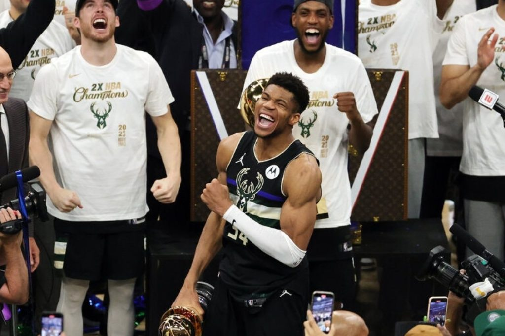 Giannis Antetokounmpo Leads Milwaukee Bucks to Their First N.B.A. Championship Title in 50 Years