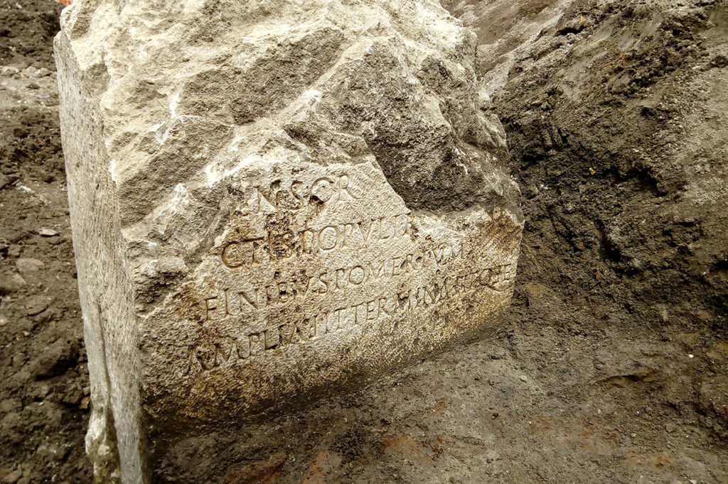A Sacred Stone Tied to the Romulus and Remus Legend Was Found In Rome