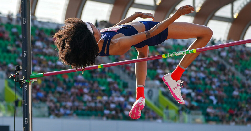 Vashti Cunningham with an Interesting Approach to Reach the Top!
