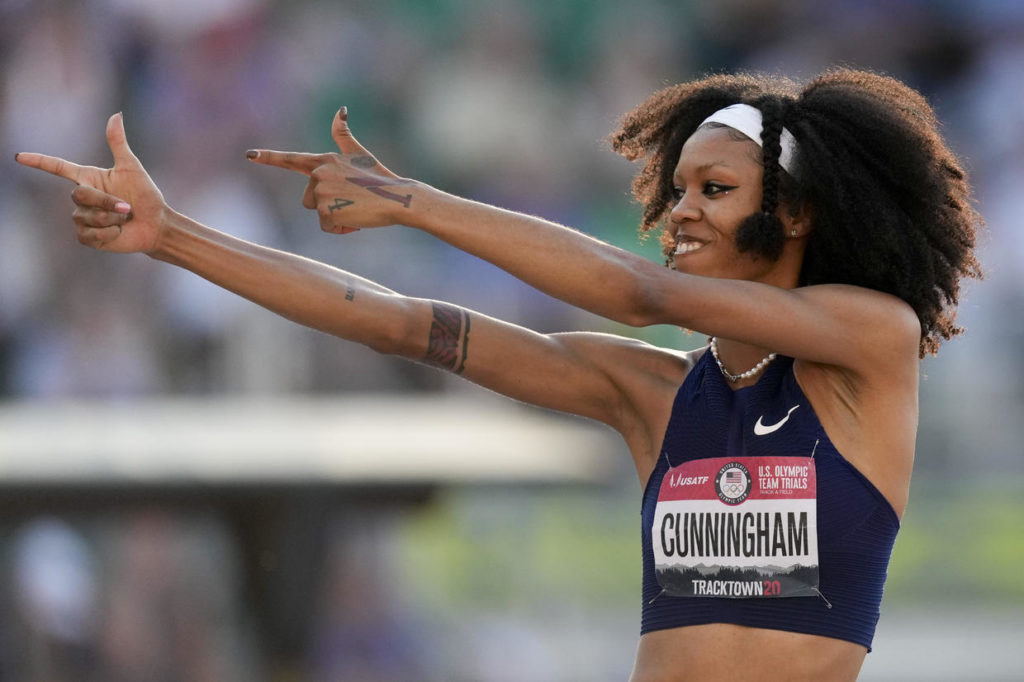 Vashti Cunningham Trusted Her Father to Be Able to Jump Higher
