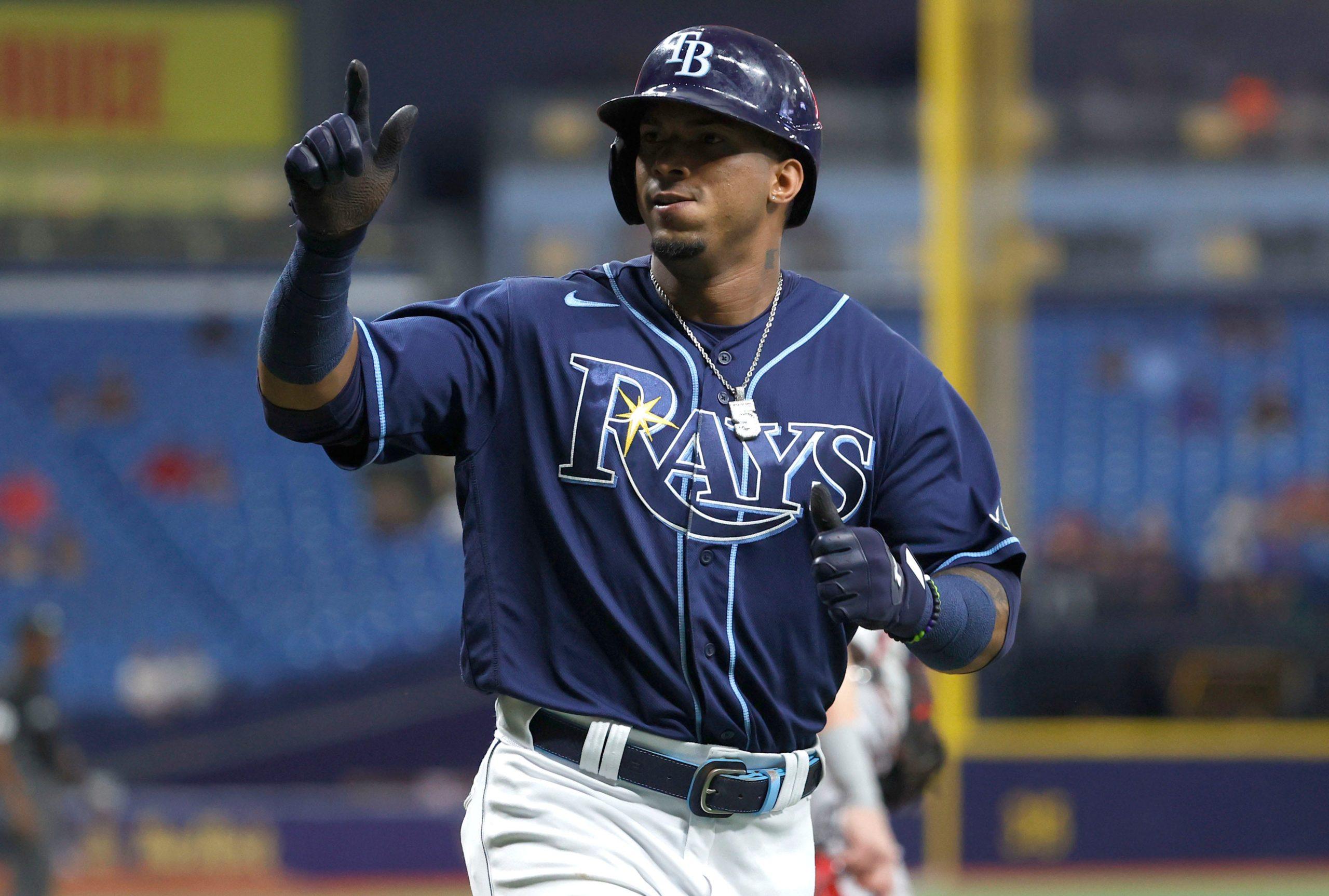 Tampa Bay's Wander Franco Has Passed Mickey Mantle's On-base Streak